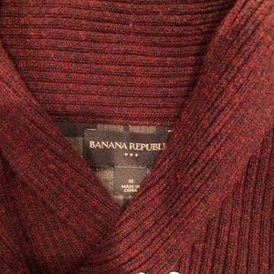 Banana Republic Sweaters - Burgundy Banana Republic Sweater